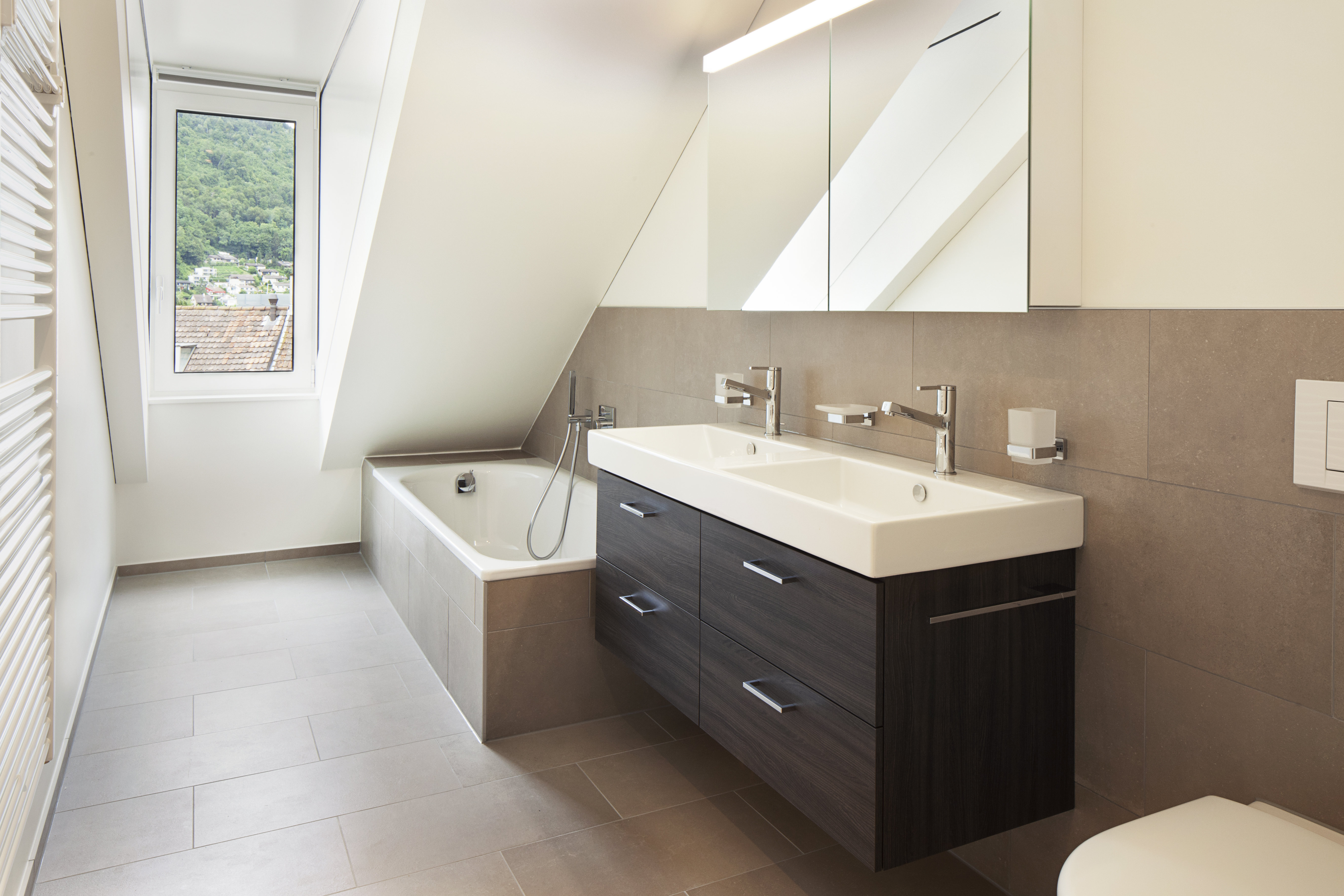 Wohnung Kueffi Center Liestal Badezimmer ERLA